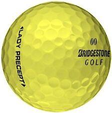 50 MINT YELLOW BRIDGESTONE LADY PRECEPT AAAAA Used Golf Balls