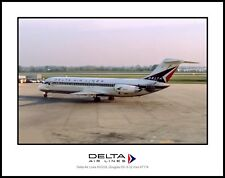 Delta Air Lines DC-9 11x14 Photo (C126LGSP11X14)