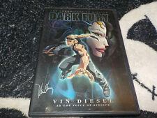The Chronicles of Riddick Dark Fury Dvd +Insert Vin Diesel Free Shipping