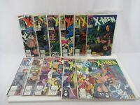 Uncanny X-Men #261-265 267-274 (Marvel Comics, 1990-1991) Lot of 13 VF/NM 9.0