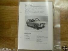 D9-DATSUN CHERRY 100A COACH,SEDAN,STATIONCAR, 120A COUP