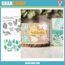 MP147 FOREVER FERN Metal Cutting Dies and Stamps (Price include STAMP and DIE)