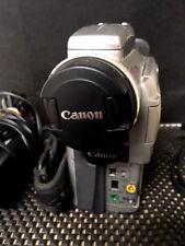 Canon Digital Video Camera  Optura 100MC 1.3 Mega Pixels With AC Adapter/Cables