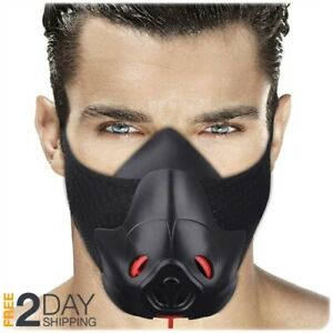 Gym Workout Mask Training Cardio Hypoxic Breathable Fitness Running Exercises