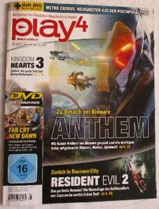 play4, Playstation-Magazin, 03.2019 / Ausgabe 143, + Heft-DVD