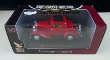 Die Cast Metal Collection Ford 3 Window Coupe 1932 1:43 Scale ~ Sealed in Box ~
