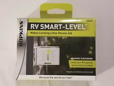 Hopkins RV Smart Level 08201 Battery Powered With LEDs & Two-Way Leveling New
