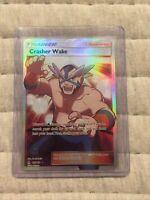 Crasher Wake 129/131 Full Art Ultra Rare Trainer Pokemon Forbidden Light NM