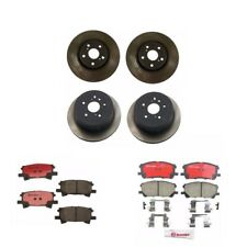 Rear & Front Disc Brake Rotors And Pads for Lexus RX330 RX350 Toyota Highlander