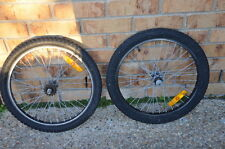 MONGOOSE / ALEX X BMX WHEELS & TYRES Suit supergoose . menace  old school