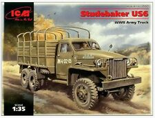 1/35 Studebaker US-6  WW2 Army Truck model kit ICM35511