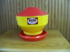 3 Round Chick Feeders-R 20 with Lids (R20/LIDP)