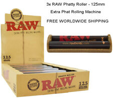 3x RAW Phatty Roller - 125mm Extra Phat Rolling Machine - FREE SHIPPING