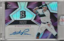 2017 PANINI SPECTRA #SS-HP HUNTER PENCE AUTOGRAPH REFRACTOR GIANTS 12/25 3179