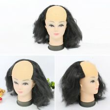 Freaky Zombie Wig Bald Top Halloween Wig black J2A1) WT
