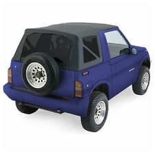 1986-1994 Suzuki Sidekick Soft Top with Tinted Windows Black Denim