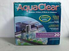 AquaClear 20 Power Filter for 5-20 Gallon Aquariums A595 Brand New Factory