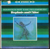 Ravel - Leonard Bernstein - Daphnis And Chloe  (EX/VG) [09-23xx] Vinyl LP