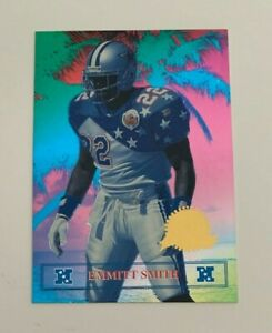 NFL EMMITT SMITH 1996 Collector's Edge President's Reserve CARD #0168 Of 7500
