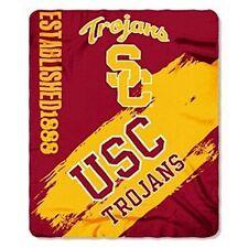 "USC Trojans ""Painted"" 50"" x 60"" Fleece Throw Blanket"