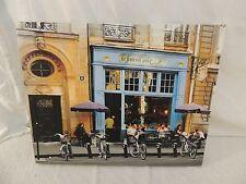 French Cafe Photograph Print On Canvas La Fourmi Ailee 19.5x16 Street View 51040