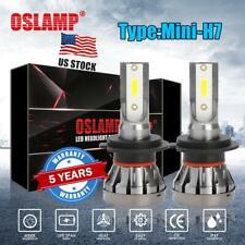 2x H7 LED Headlight Kit 1500W 225000LM High-Low Beam Bulb COB 6000K Lamp White