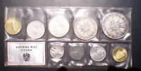 Austria 1968 Proof Set (only 15.200 Minted)