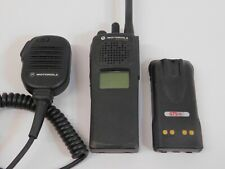 Motorola Xts 1500 H66kdd9pw5bn Vhf 136 174mhz P25 Two Way Radio With Battery Mic