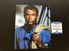 Sam Neill Hot! signed autographed Jurassic Park 8x10 photo Beckett BAS coa