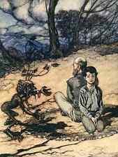 A4 Foto los cuentos de hadas de los hermanos Grimm 1909 9 impreso Poster