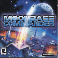 MoonBase Commander Pc New Cd Rom Only Sealed In Paper Sleeve Win10 8 7 XP