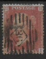 "SG29.1d.Red-Brown""Stars""(LCp14). Fine Used & In Clean Condion.Cat.£22. Ref.0-108"