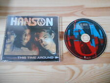 CD Pop Hanson - This Time Around (2 Song + 3 Interviews) Promo ISLAND
