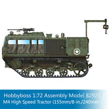 HobbyBoss 82921 1/72 Scale M4 High Speed Tractor (155mm/8-in./240mm) Model Kits