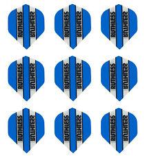 Ruthless Blue Clear Panel Standard Micron Dart Flights - 3 sets(9 flights)