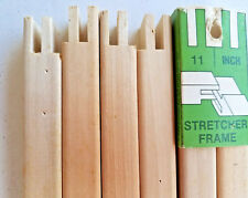 HOWELL 3 SETS wood STRETCHER BARS size 11 Art Crewel Needlepoint Embroidery