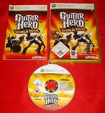 GUITAR HERO WORLD TOUR XBOX 360 Versione Italiana ○ USATO - AI