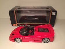 1:18 Scale Die Cast Metal 1995 Ferrari F50 Model