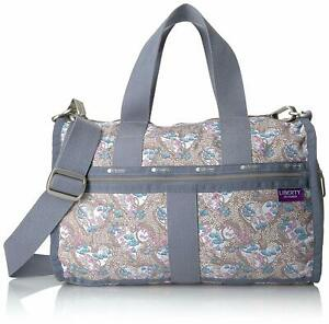 LeSportsac Women's Essential Small Weekender Crossbody Bag in Amy Jane Lilac