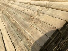 "TIMBER TREATED TANALISED 3""x1""x 16ft SAWN TIMBER BOARDS FENCING 22 x 75 x 4.8m"