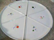 2004 PILLSBURY DOUGHBOY (6) INDIVIDUAL PIZZA PLATES IN BOX