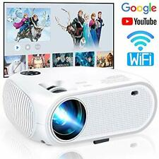 WiFi Projector 4500Lux Weton Wireless Mini Video Projector 1080P Full HD