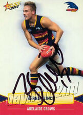 ✺Signed✺ 2013 ADELAIDE CROWS AFL Card BERNIE VINCE