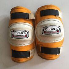Vintage Basher Uk knee pads skateboard