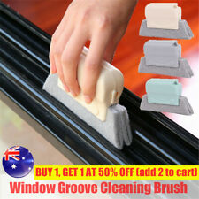 Window Groove Track Cleaning Brushing Sill Gap Crevice Dust Cleaner Tool Brushes