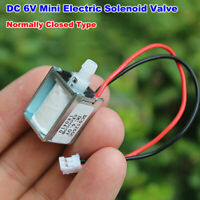 DC 5V 6V Micro Electric Solenoid Valve Normally Closed N/C Type Deflating valve