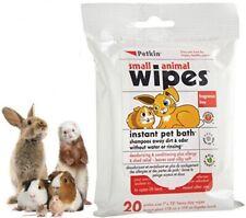 More details for *petkin small animal wipes instant pet bath rabbit guinea pig hamster ferret rat
