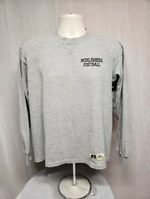 Muhlenberg College Football Adult Large Gray Long Sleeve TShirt