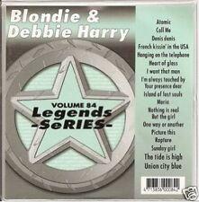 BLONDIE Debbie Harry Karaoke CDG HEART OF GLASS CaLL Me RAPTURE Maria DENIS 17Sg