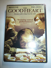 The Good Heart DVD indie drama movie bartender Paul Dano and Brian Cox NEW!